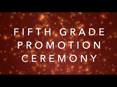 Castle Hill Elementary School's Fifth Grade Promotion Ceremony