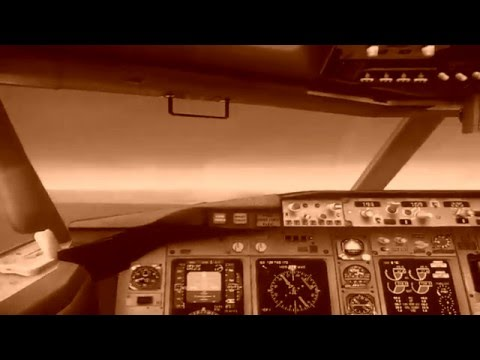 FSX Boeing 737-800 World Travel Airlines LV-DTD landing in Río Gallegos, cockpit view.