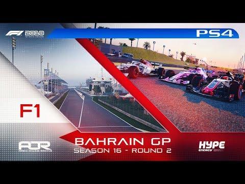 F1 2018 | AOR Hype Energy F1 League | PS4 | S16 | R2: Bahrain GP