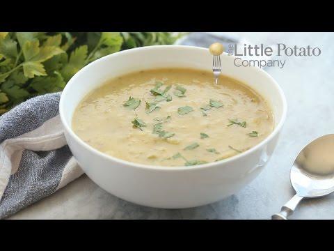 Potato Leek Soup (Vegan, Gluten Free)