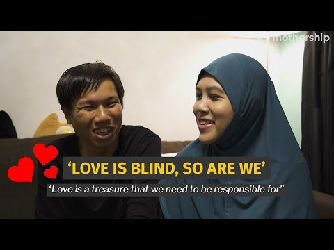 Visually Impaired S'porean Couple Finds Each Other After Many Years Apart