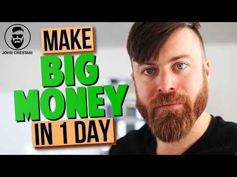 How To Make Quick Money In One Day Online