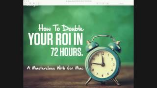 How To Double Your ROI In 72 Hours