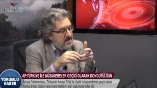 Yorumlu Haber | AP: Türkiye ile Müzakereler Geçici Olarak Dondurulsun