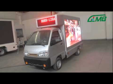 Outdoor Led advertising truck