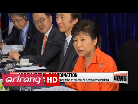 President Park to call for int'l cooperation on pressuring N. Korea at EAS