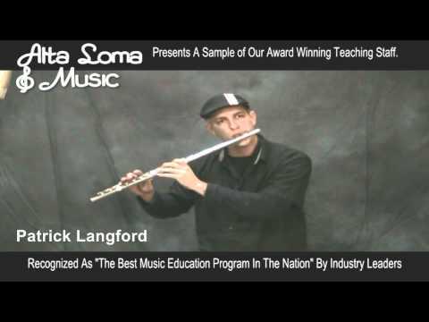 Patrick Langford - Flute Lessons Rancho Cucamonga CA - Alta Loma Music Lessons