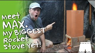 How To Make A DIY Cobb And Fire Brick Rocket Stove Forge