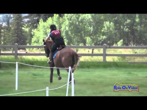 211SC Ione George On G Salsa T3D Steeplechase The Event At Rebecca Farm July 2014