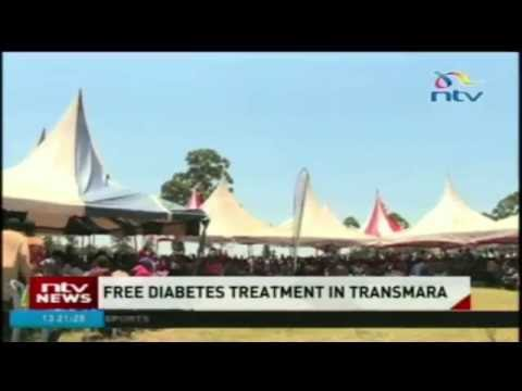 3,000 Kilgoris  residents benefit from free diabetes treatment