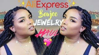 Aliexpress |Jewelry Haul | Boujee Jewels | Jennyfer Ross