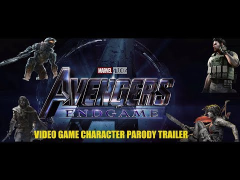 Avengers Endgame PARODY TRAILER (Video Game Characters Style)