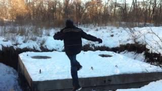 Видео паркура для начинающих на бункерах