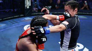 Abril Anguiano vs Paola Ramirez Full Fight | MMA | Combate Dallas