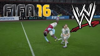 FIFA 16 Fails - With WWE Commentary #8