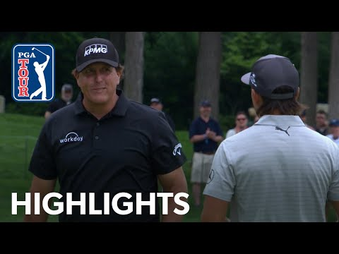Phil Mickelson Highlights | Round 1 | The Memorial 2019