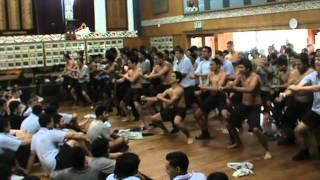 Tumatauenga House Haka Competition 2013 (4th) Gisborne Boys' High School