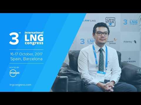 Aun Kang Leong (JGC Corporation) Interview @ 3rd LNG Congress, October 2017
