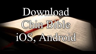 Chin Bible Download tuah ning || iOS, Android, iPhone,