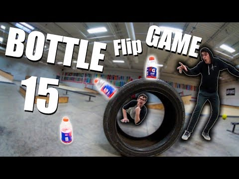ULTIMATE GAME of BOTTLE FLIP! | Round 15