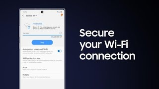Samsung Galaxy: How to protect your Wi-Fi connection in public