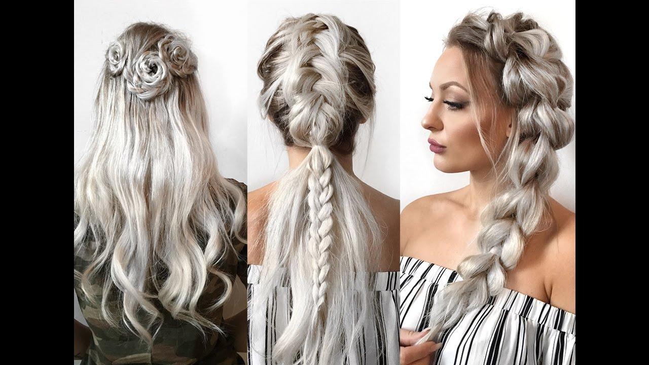 Make Up Hair And Fashiontrends For Every You Https X2f X2f Www Facebook Com X2f Flechtfrisuren Geflochtene Frisuren Fur Lange Haare Geflochtene Frisuren