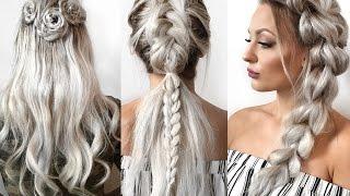 Braid Hairstyles for long hair// Flechtfrisuren für langes Haar