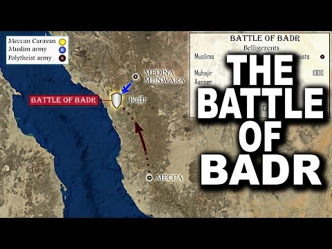 The Battle of Badr (The 1st attack from Mecca to Medina) Ep 20