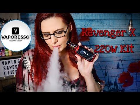 Vaporesso Revenger X 220W Kit w/NRG Tank Review