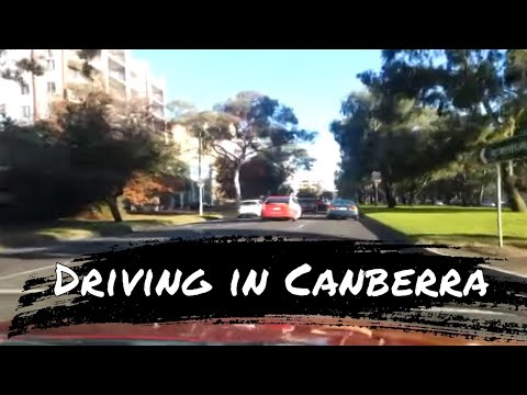 Canberra morning drive