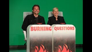 Download Bradley Cooper Answers Ellen's 'Burning Questions' Mp3 and Videos