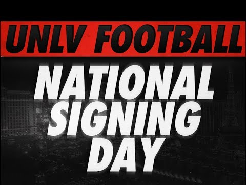 UNLV Football- Class of 2018 February Signees
