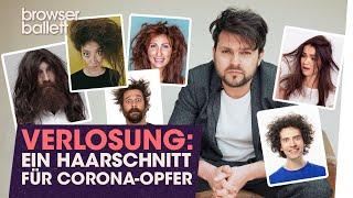 Verlosung: Ein Haarschnitt für Corona-Opfer