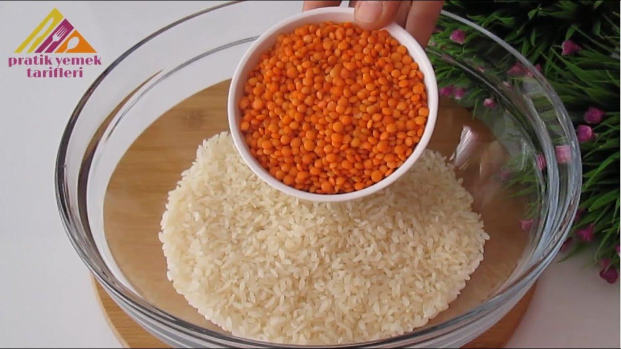 Lezzetli ve Kolay 👌 Pirinci Birde bu şekilde denemelisiniz 💯 Tavuklu Mercimekli Pilav Tarifi 😍