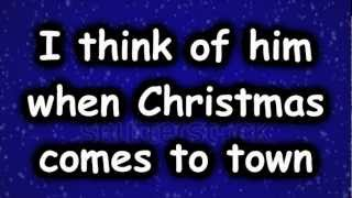 When Christmas Comes to Town- Lyrics HD