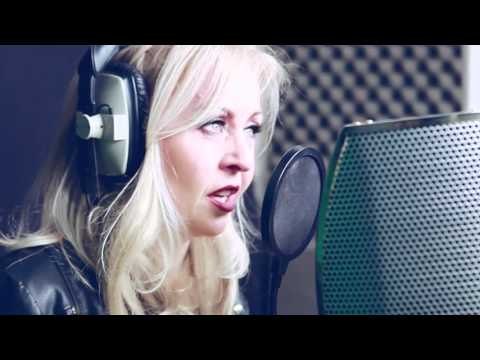 Kerry murphy singing I'm alive filmed at the Glen Bolton studios ..Chesterfield