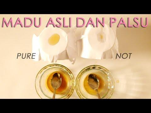 Cara Membedakan Madu Asli Dan Palsu // Honey Pure or Not Test