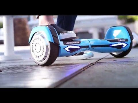 STEP ONTO THE FUTURE WITH RAZOR HOVERTRAX 2.0!
