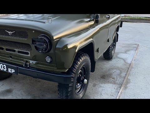 Восстановление УАЗ-469 1977