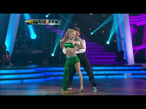 【TVPP】Hyoyeon(SNSD) - Get Up Offa That Thing [Cha-Cha] @ Dancing With The Stars