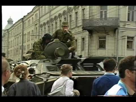 The 1991 Soviet Union Revolution