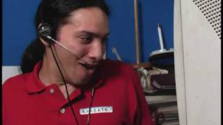 call center salesman goes insane (REAL RECORDING)