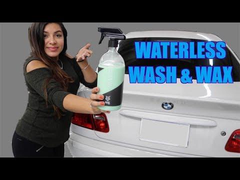 WATERLESS WASH & WAX! Does it work? (SmartPolishPro)