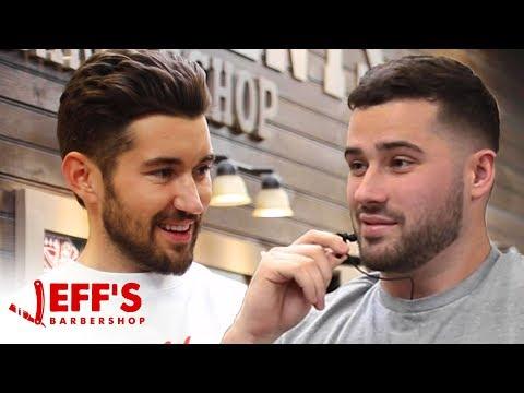 MEETING MY LONG LOST TWIN BROTHER? | Jeff's Barbershop ft. Joe Santagato