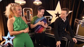 Electric Rainbow have electric BGT dreams   Auditions   BGMT 2019