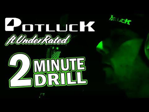Potluck - 2 Minute Drill featuring UnderRated (Fastest Raps)