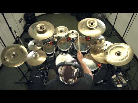SYNAPTIK 'Conscience' Drum Playthrough PETE LOADES Progressive Metal