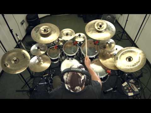 SYNAPTIK 'Conscience' Drum Playthrough PETE LOADES Progressive Metal