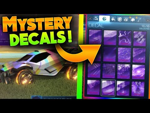 INSANE NEW BLACK MARKET DECAL CONCEPTS | These HAVE To Get Added Into Rocket League!