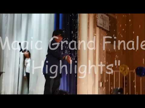 Nathan's Magic at Vine Street Elementary School Talent Show 2017